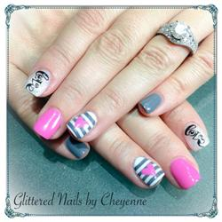 Glittered Nails by Cheyenne, LLC